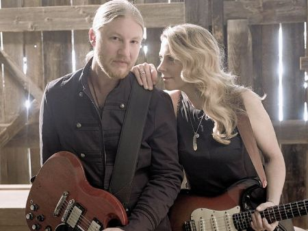 Derek Trucks and wife and bandmate Susan Tedeschi (courtesy Mark Seliger)