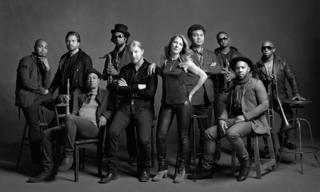The Tedeschi Trucks Band circa 2014 (courtesy Mark Seliger)