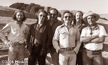 Steve Kimock and his band Zero circa 1992 (photo by Bob Minkin)