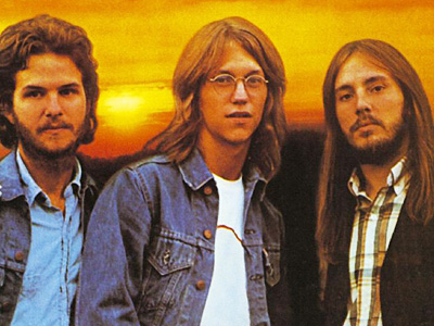America co-founders (L-R) Dan Peek, Gerry Beckley and Dewey Bunnell