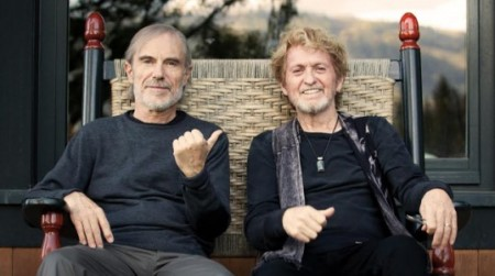 Jean-Luc Ponty (L) and Jon Anderson (photo courtesy AndersonPonty)