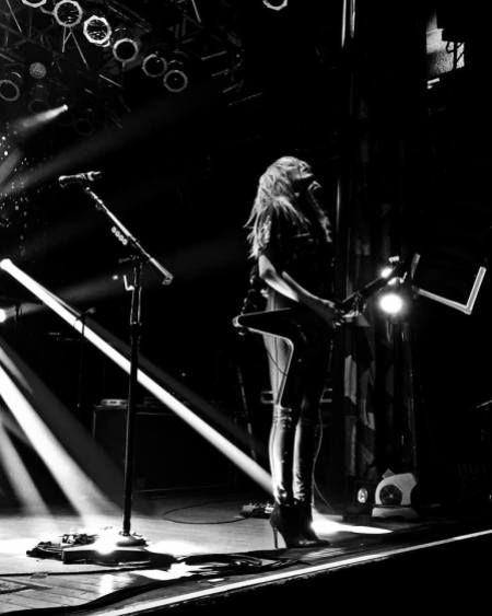 Grace Potter live on tour in 2015 (photo courtesy Jessica Bohn)