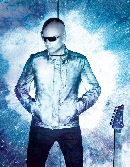 Joe Satriani as Shockwave Supernova (photo courtesy Chapman-Baehler)