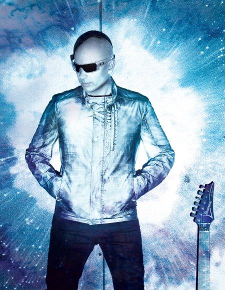 Joe Satriani as Shockwave Supernova (photo courtesy Chapman-Baehler)