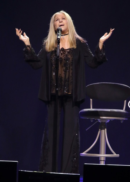 Barbra - The Music... The Mem'ries... The Magic! Tour - Washington DC